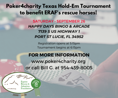 Charity Poker event