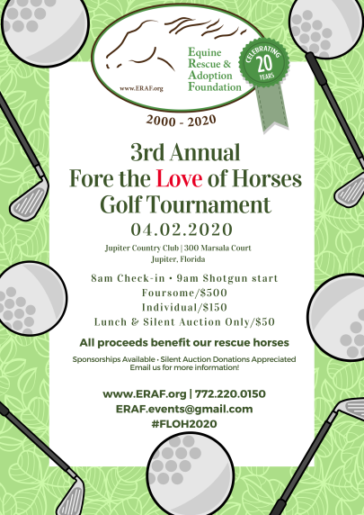 Golf Event2020 Save the Date